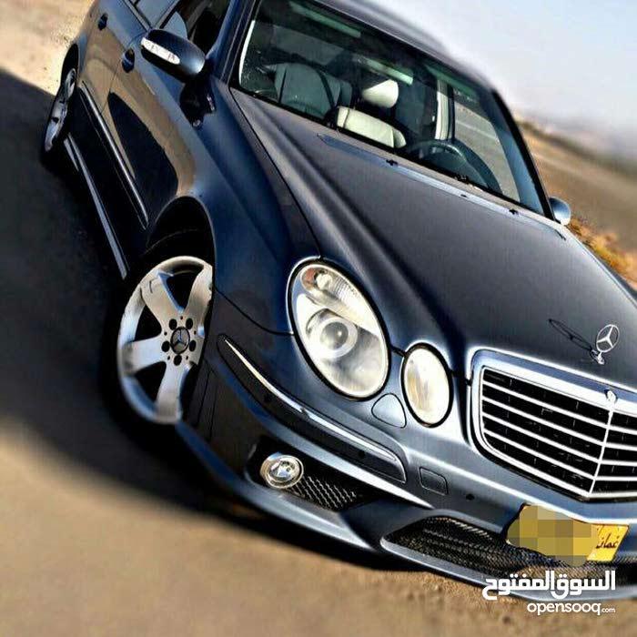 Used condition Mercedes Benz E 320 2004 with +200,000 km mileage