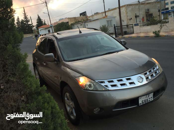 Brown Nissan Murano 2003 for sale