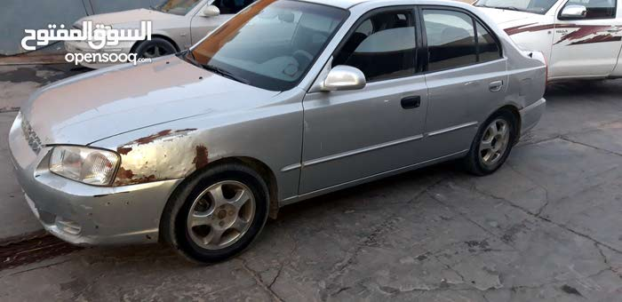 Hyundai Verna car for sale Older than 1970 in Misrata city