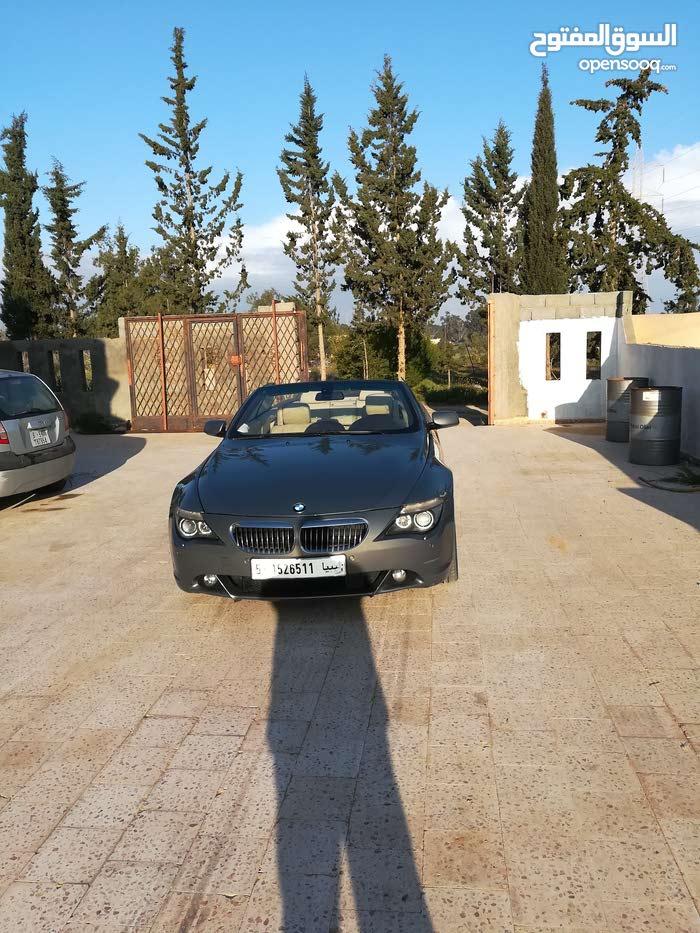 BMW 645 in Tripoli