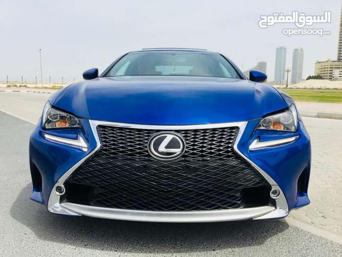 Lexus RC F SPORT 2015