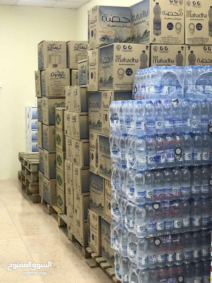 بيع مياه معدنية بلمفرد والجمله الموقع الخابورة منطقه المسيله