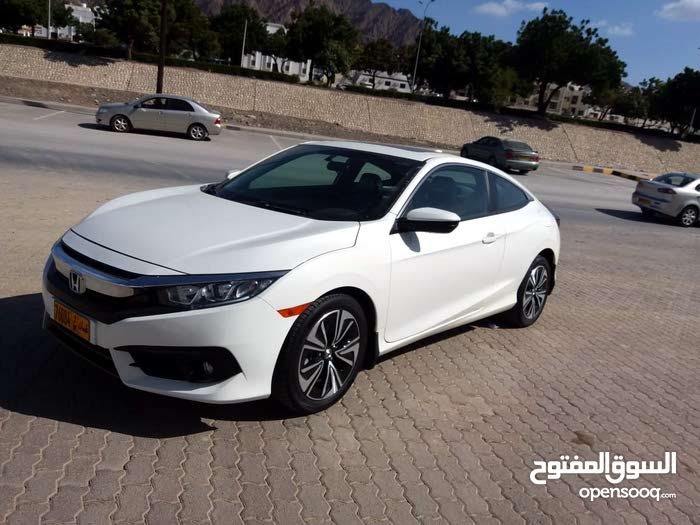 Honda Civic 2017 For Sale White Color 94946003 Opensooq
