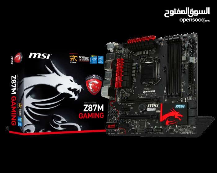 I5-4570 @3.6 + MSI gaming Motherboard