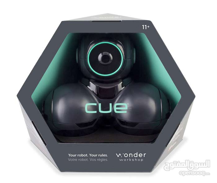 Wonder Workshop – CUE Coding Robot For Kids 10+ – STEM Learning – Learn to Code – Built-In Bluetooth