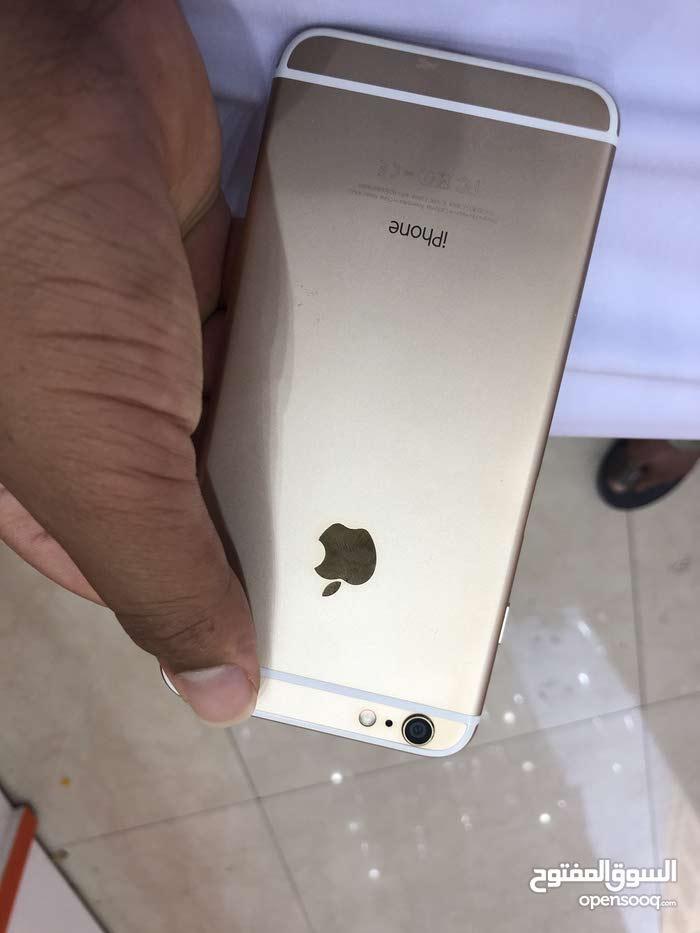 ايفون 6بلس ذهبي حجم 64 جيبي