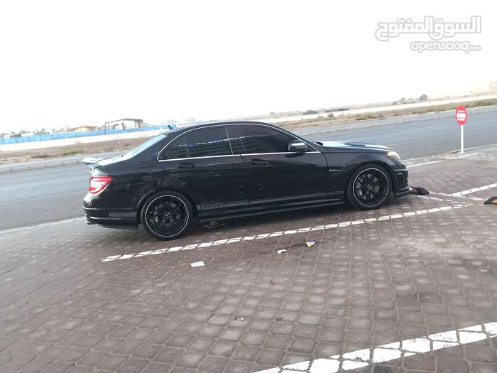 Mercedes Benz C63 AMG car for sale 2010 in Shinas city