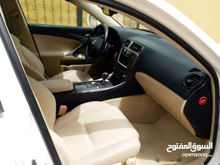 White Lexus IS 2007 for sale