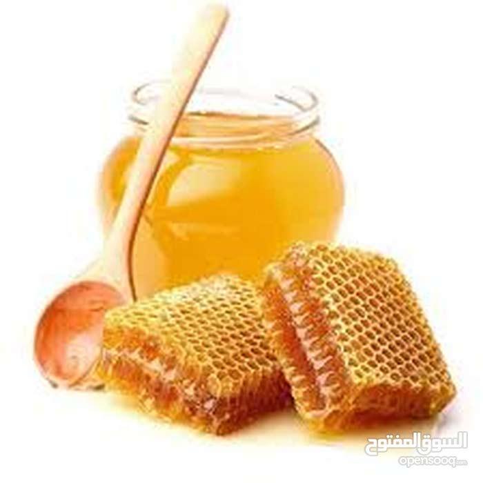 منتوج من العسل الرائع من منطقة غنيمة
