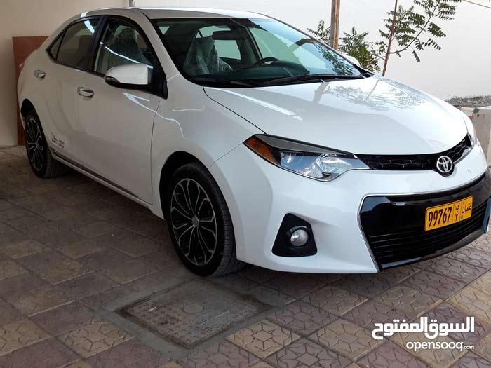 For sale 2016 White Corolla