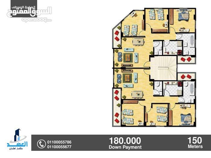New Apartment of 150 sqm for sale Mokattam