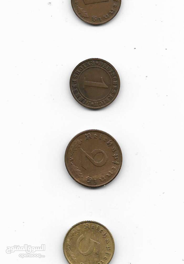 عملات معدنية المانية قديمة