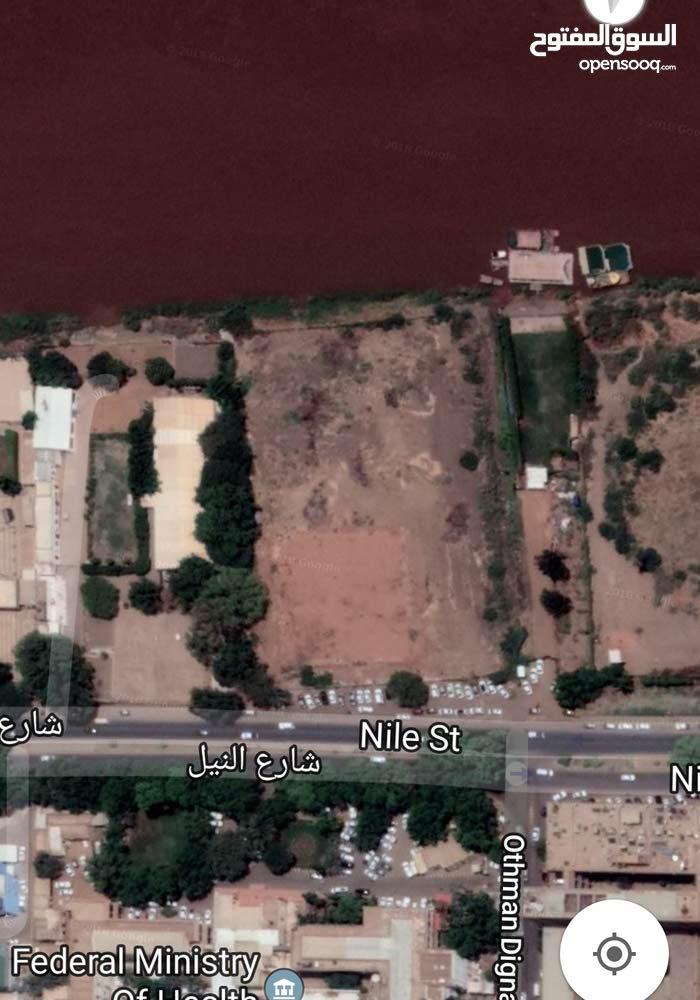 #للبيع قطعة ارض بشارع النيل