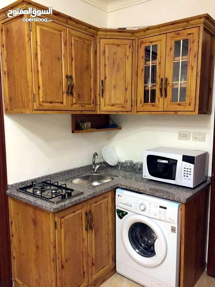 Jubaiha neighborhood Amman city - 40 sqm apartment for rent