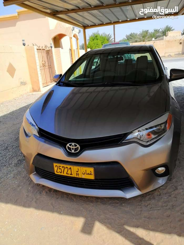 Gold Toyota Corolla 2014 for sale