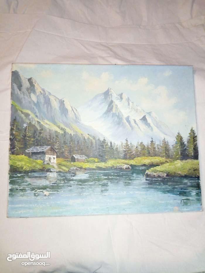 لوحة رسم زيتي على القماش
