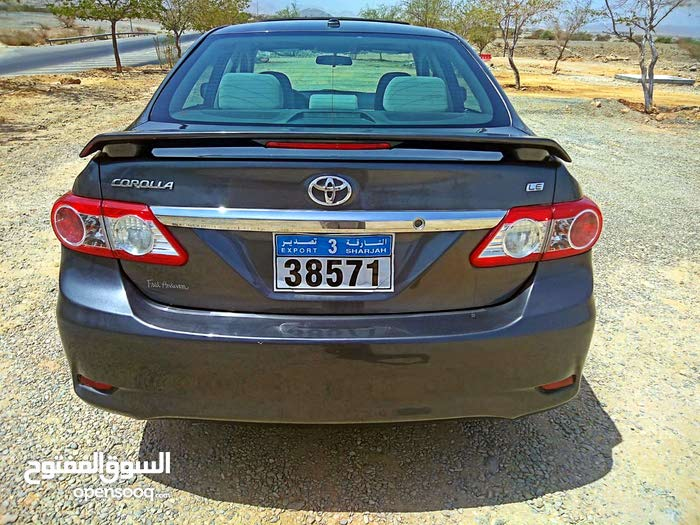 Toyota Corolla car for sale 2012 in Nakhl city