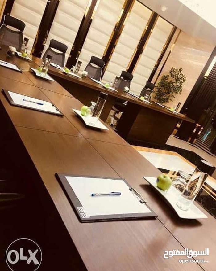 قاعات اجتماعات ومؤتمرات وندوات للتأجير اليومي مع خدمات متميزة في العليا