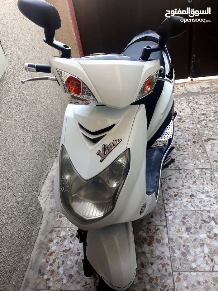 Yamaha motorbike made in 2014