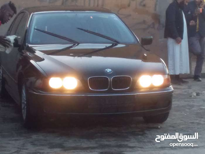 BMW 520 1999 For sale - Green color