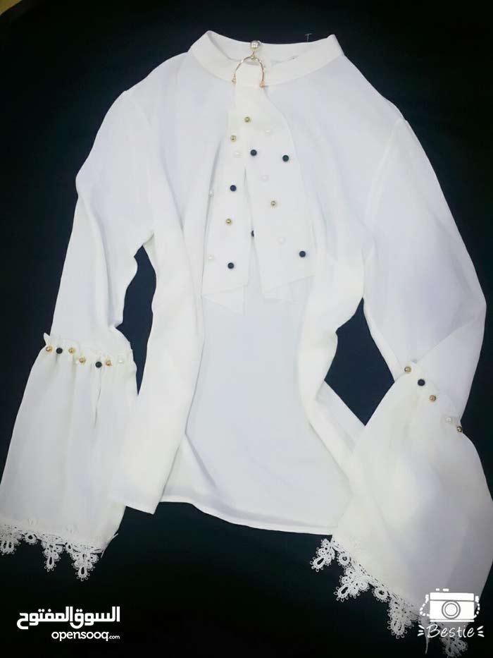 قميص ابيض اوف وايت