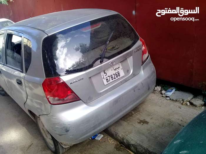 2005 Used Kalos with Manual transmission is available for sale