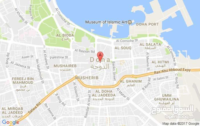 شقة للايجار 120م في الدوحة