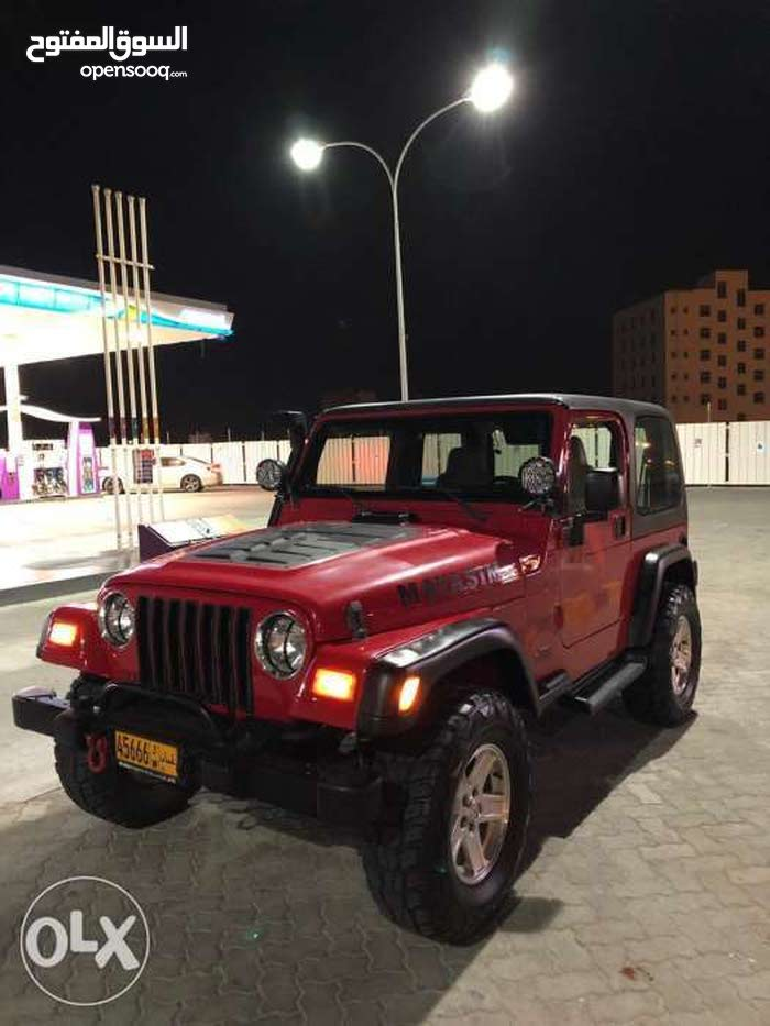 Jeep Wrangler car for sale 2004 in Muscat city