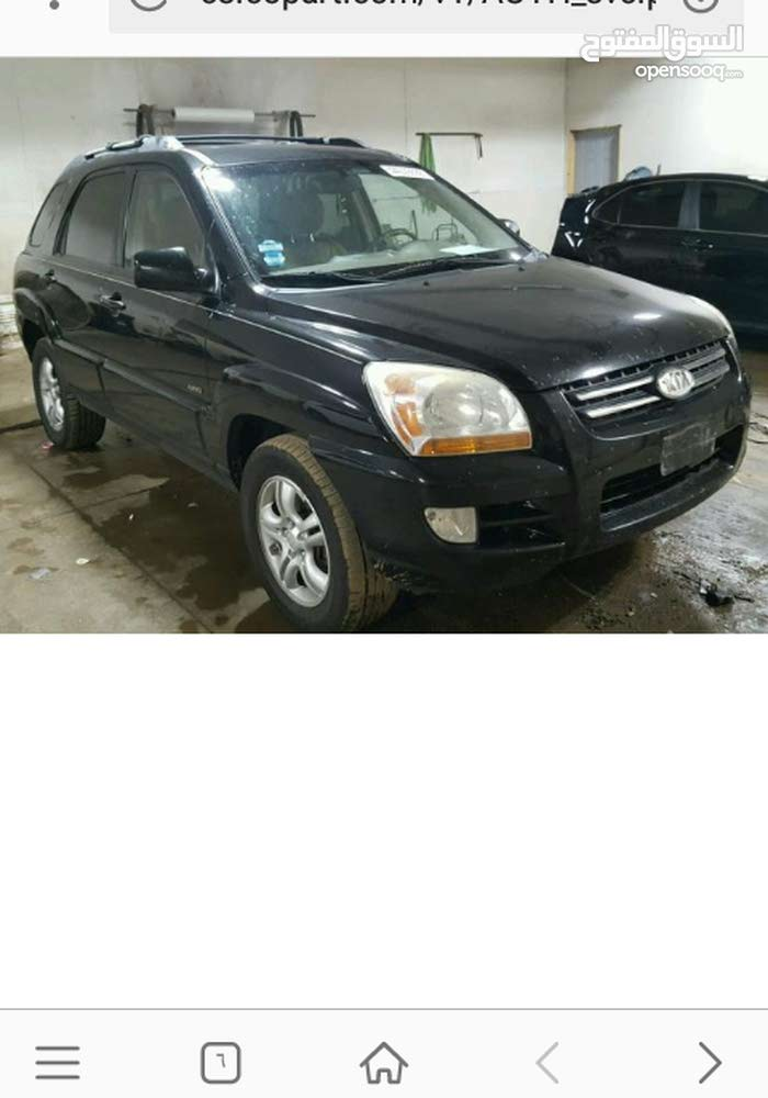 Kia Sportage 2006 For sale - Black color