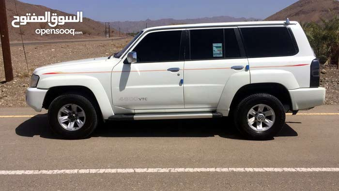 White Nissan Patrol 2006 for sale