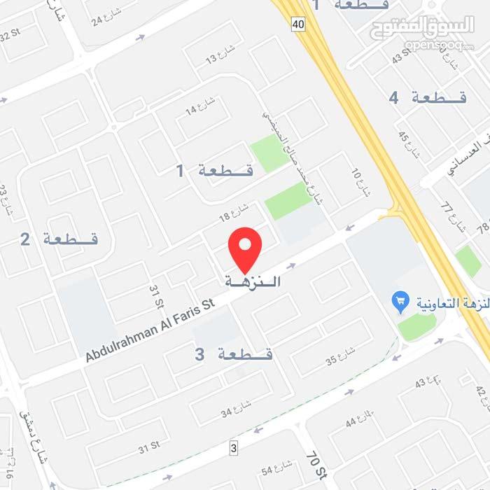 للبيع بيت في النزهـــه قرب الجمعيه