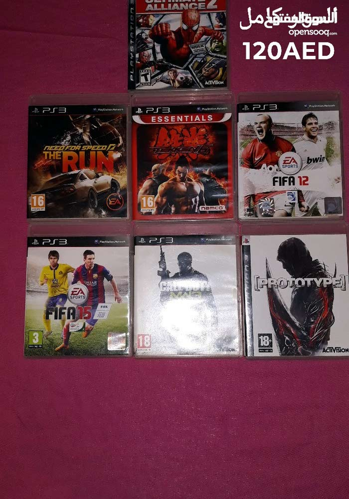 Used Playstation 3 up for immediate sale in Abu Dhabi