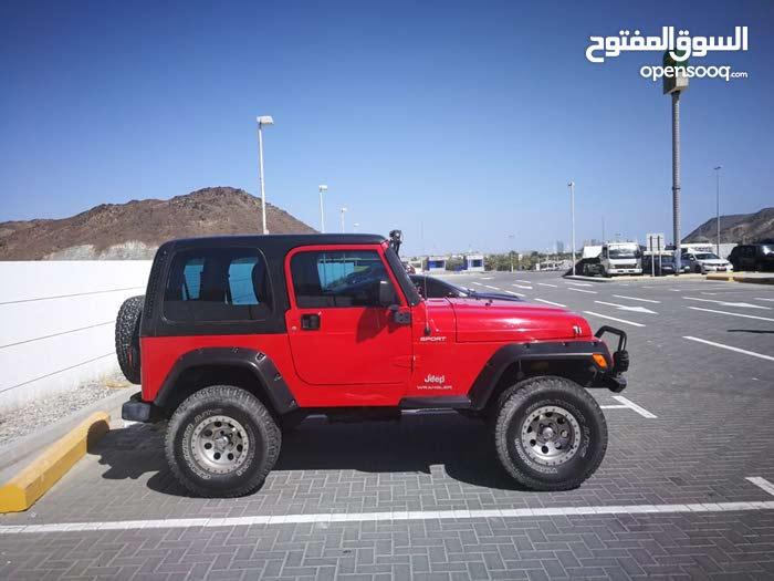 Jeep wrangler 2005 gcc full option manual gear