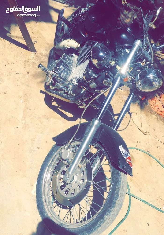 Used Harley Davidson motorbike available in Basra