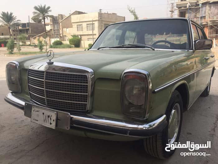 Used condition Mercedes Benz E 200 1975 with 90,000 - 99,999 km mileage