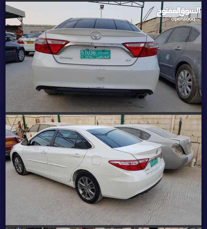 Toyota Camry car for sale 2017 in Muscat city