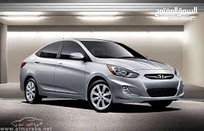 Automatic Hyundai 2017 for rent - Amman