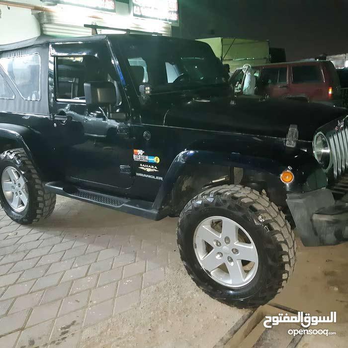 Black Jeep Wrangler 2009 for sale