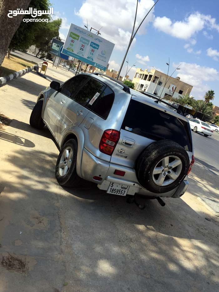 Gasoline Fuel/Power   Toyota RAV 4 2004