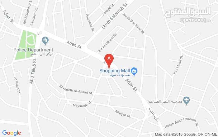محل مميز  للايجار في حي عدن دوار مسجد عثمان جبل النصر