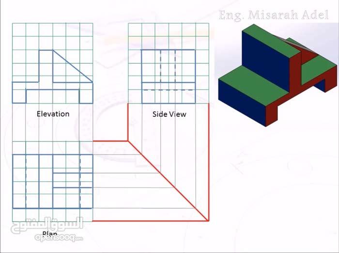 استاذ رسم هندسي