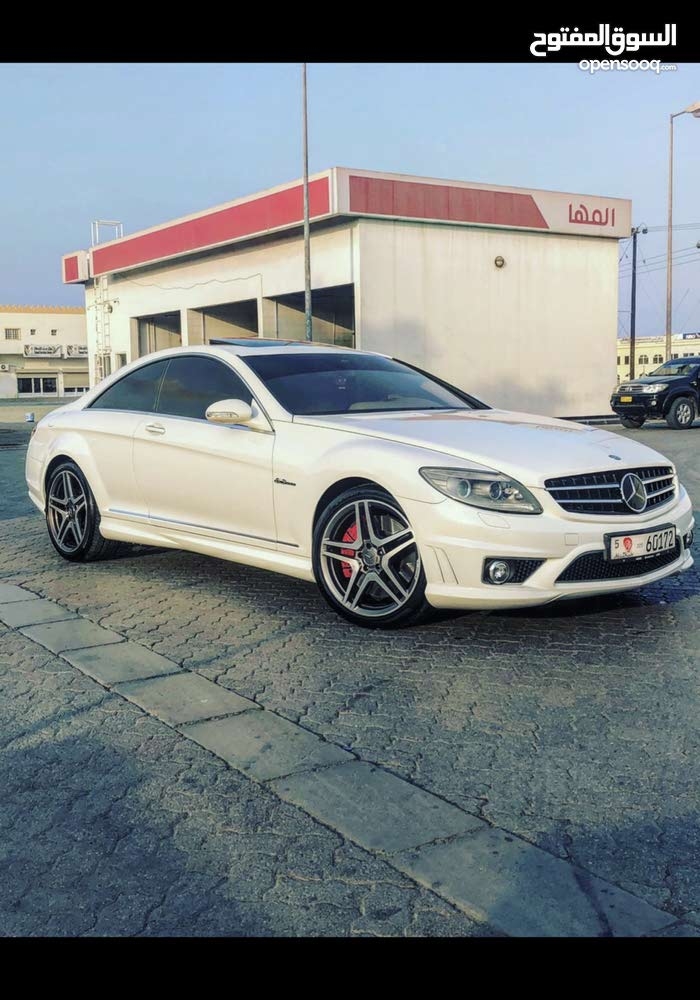 Mercedes Benz CL 63 AMG made in 2007 for sale