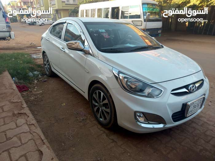 Automatic 2013 Accent for rent