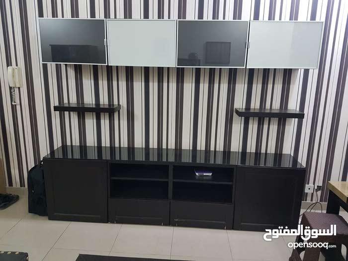 Entertainment Center with shelves