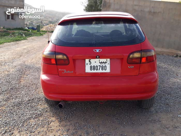 Red Daewoo Lanos 1998 for sale