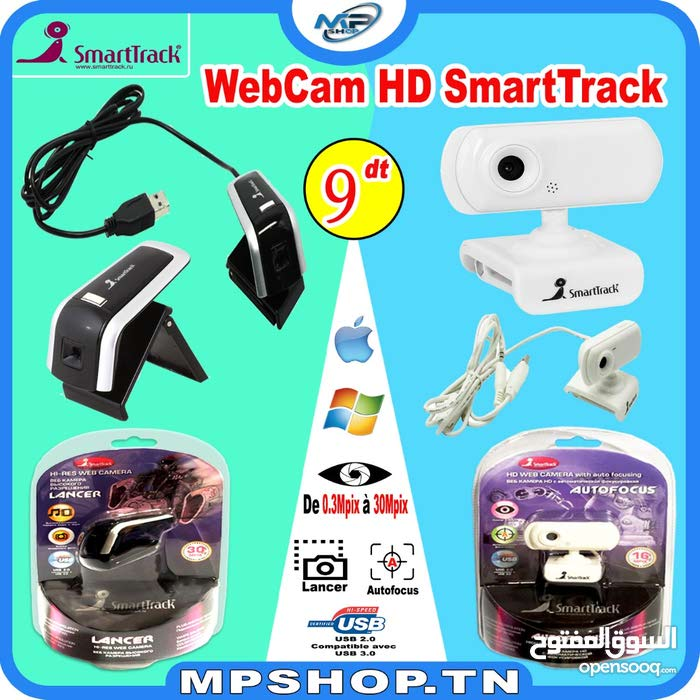 WEBCAM HD SMARTTRACK 2.0 M