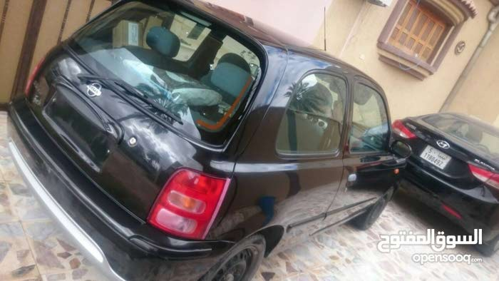 Nissan Micra 2003 For sale - Black color