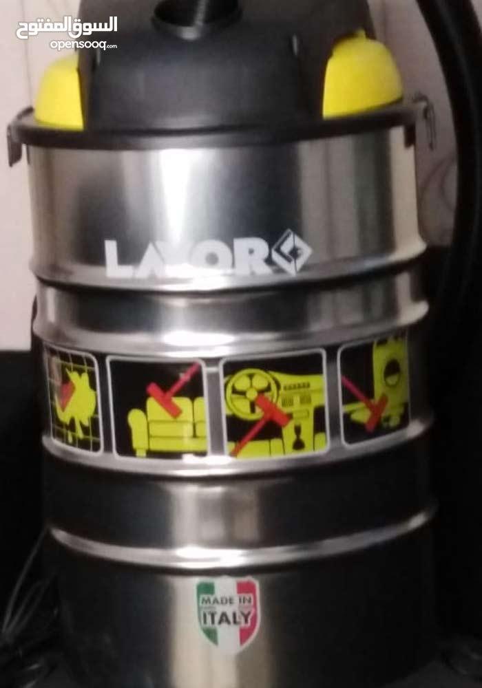 مكنسة كهربائية LAVOR الايطالية تشفط وتنظف فايربليس WET & DRY