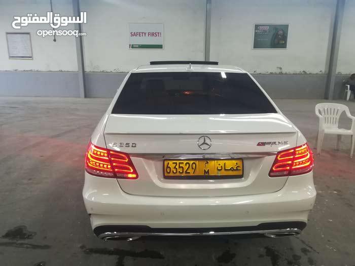 White Mercedes Benz E350e 2012 for sale
