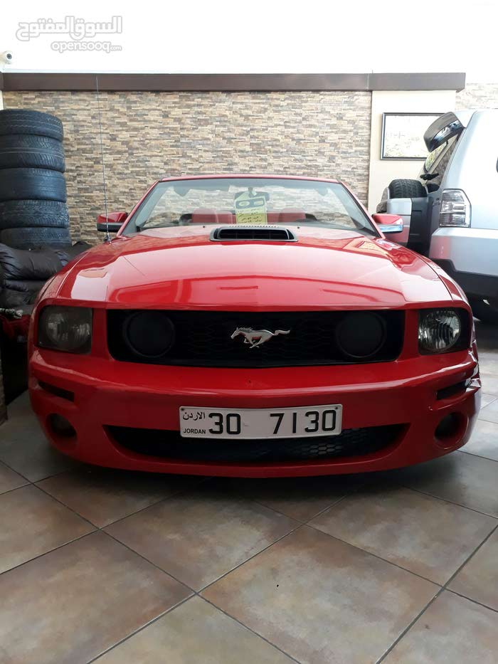 Red Ford Mustang 2008 for sale